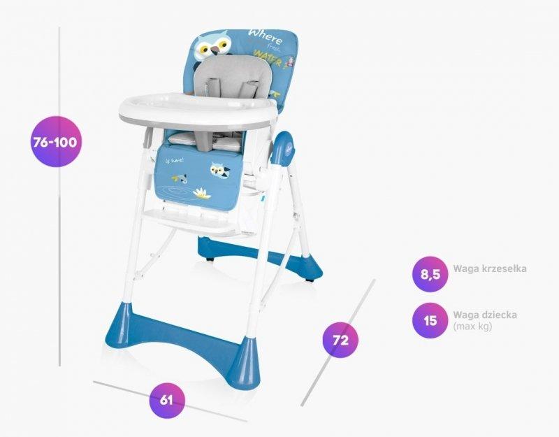 krzesełko  do karmienia  PEPE  BABY DESIGN