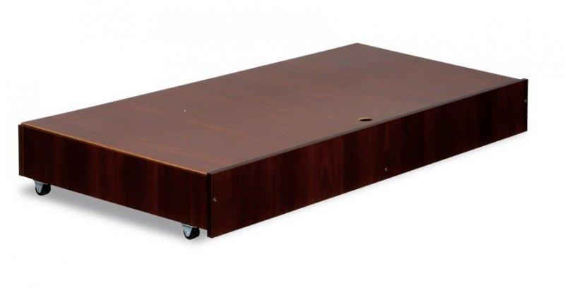 pojemnik  ( szuflada + przykrycie) do łóżeczka 120/60 kolor ORZECH  Klupś