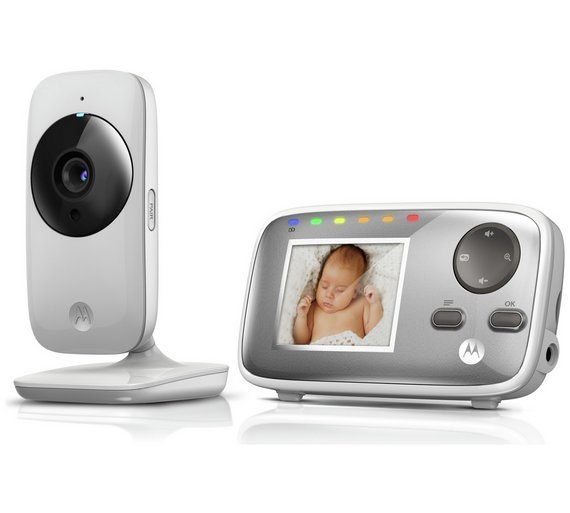 """Niania Elektroniczna z kamerą, monitor 2.4"""" MBP 482 Motorola"""