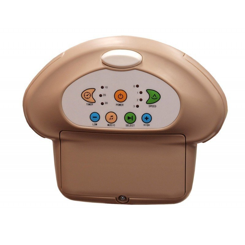 Huśtawka elektroniczna leżaczek Baby Mix  230V/baterie kolor coffee