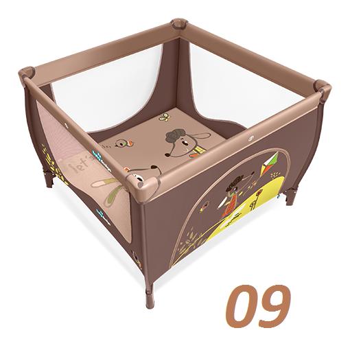 promocja@ KOJEC PLAY baby design składany  106/106 cm