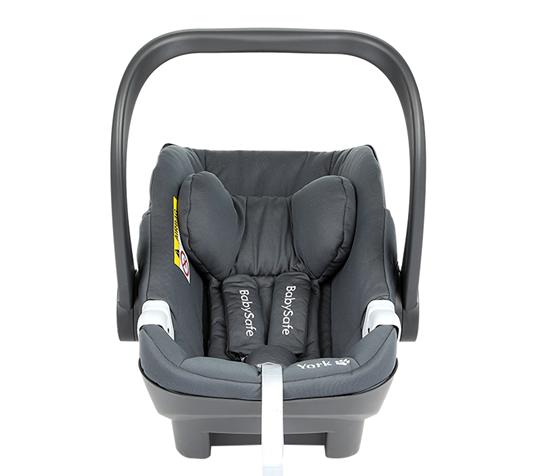fotelik samochodowy  YORK Babysafe 0-13 Kg (40-80cm )