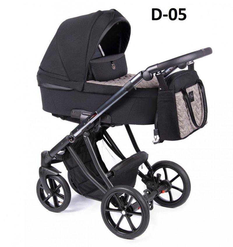 ponadczasowy DANTE 2021 zestaw 3w1 ( gondola + spacerówka + fotelik KITE 0-13 kg )  Coletto DWA KOLORY STELAŻA