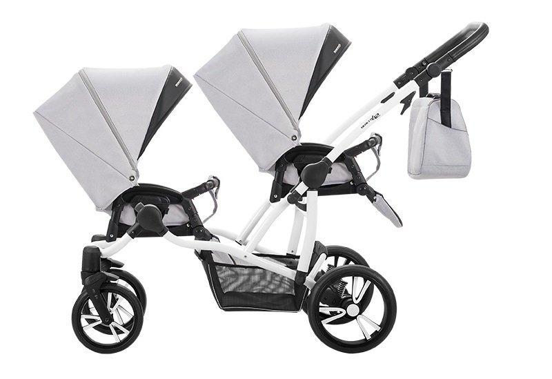 BEBETTO SPORT wózek spacerowy  2 spacerówki EXTRA DODATKI zestaw xxxl