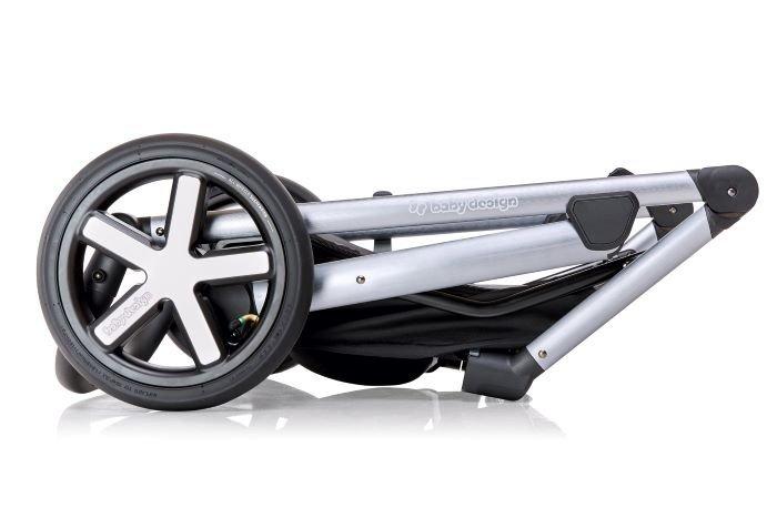HUSKY 2021 wózek wielofunkcyjny ( gondola+spacerówka) baby design + WINTERPACK