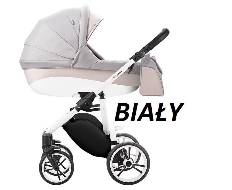 wózek wielofunkcyjny 2020 HOLLAND - nowa wersja  ( gondola+ spacerówka ) Bebetto