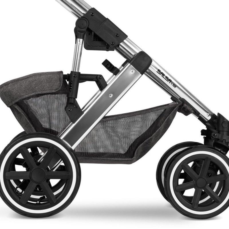 Diamond Edition 2021 SALSA AIR 4 zestaw 2w1 + adaptery do maxi-cosi ABC DESIGN kolor asphalt
