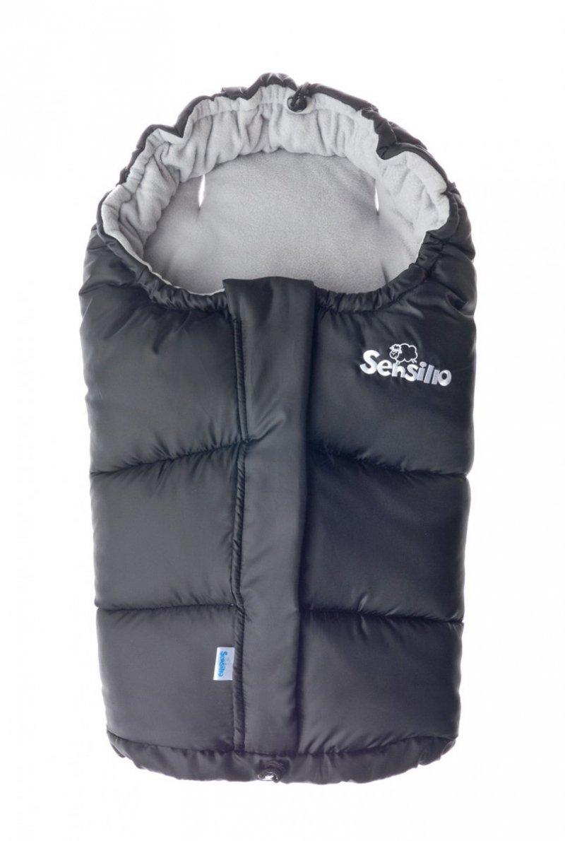Śpiworek regulowany 4w1 do wózka . fotelika i na sanki POLAR  Sensillo  GRANAT/SZARY NAVY/GREY