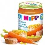Hipp Bio Marchew Kukurydza Cielęcina 6m 190g