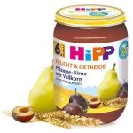 Hipp Bio Deser Śliwka Gruszka Zboża 6m 190g