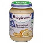 BabyDream Bio kaszka na noc Manna Mleko Keks 4m 190g