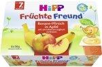 HIPP BIO Jogurt Banan Brzoskwinia Jabłko 6x50g 7m