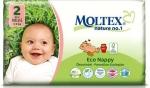 m-din Moltex 2 Eko Jednorazowe Pieluszki 3-6Kg
