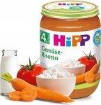Hipp Bio Risotto Warzywne Pomidory Pierwsze Warzywa 4m 190g