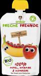 Erdbar Bio 100% Mus Jabłko Banan Maliny 1r 100g