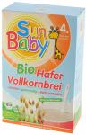 SunBaby Bio bez Mleka kaszka owsiana 4m 250g