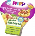 Hipp Bio Makaron Muszelki Cukinia Pomidor na tacce 12m 250g