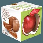 Czekoladowe Jabłko Mleczna czekolada plasterek 130g