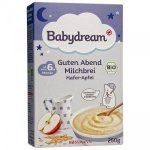 BabyDream Bio kaszka Owsiana Mleko Jabłko 6m 250g
