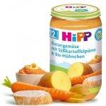 Hipp Bio obiad Maślane Warzywa Bataty Kurczak 12m 250g