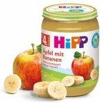 HIPP BIO 100% Owoce Jabłko Banan 190g 4m