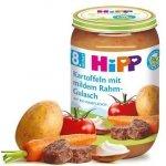 Hipp Bio Ziemniaki Kremowy Gulasz Wołowina 8m 220g