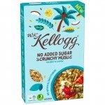 Kellogg's Musli bez Cukru Kokos Migdały Nerkowce 400