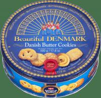 Jacobsens Danish Duńskie Ciasteczka Maślane w Puszce 500g