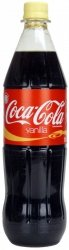 Coca Cola Vanilla Waniliowa bez Cukru 1L