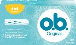 OB Normal Original 32 szt Tampony Niemieckie