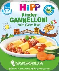 Hipp Bio Mini Oryginalne Cannelloni z Warzywami 250g 1r