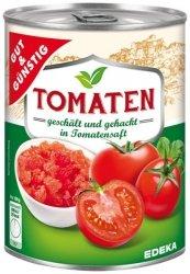 GG Pomidory W Sosie Pomidorowym Pokrojone Obrane 425ml