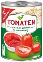 GG Całe Obrane Pomidory W Sosie Pomidorowym 425ml