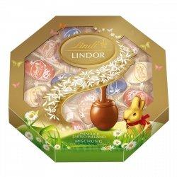 Lindt Wielkanocne Czekoladowe Jajeczka 4smaki 288g