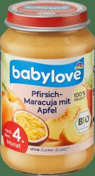 Babylove BIO Mus Brzoskwinia Marakuja Jabłko 4m 190
