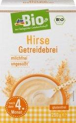 Bio Bezmleczna Kaszka Jaglana 99,9% Proso bez glutenu 250g 4m