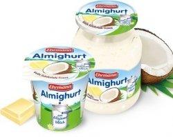 Ehrmann Almighurt Jogurt Biała Czekolada Kokos Słoik