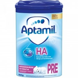 Aptamil HA Pre hipoalergiczne mleko początkowe 800g