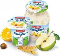 Ehrmann Almighurt Jogurt Musli Z Owocami Słoik