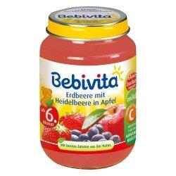 Bebivita deserek Jagoda Truskawka Jabłko 6m 190g