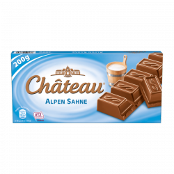 Chateau Czekolada Alpen Sahne Mleczna 200g