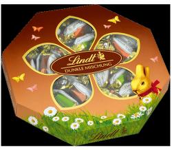 Lindt Wielkanocne Jajeczka Ciemna Czekolada 3 smaki 165g