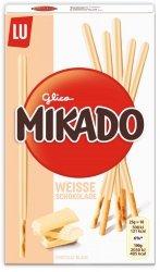 Mikado Ciasteczkowe Paluszki Z Białą Czekoladą 75g
