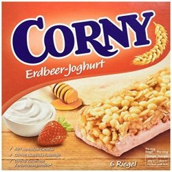 Corny Batoniki Zbożowe Truskawka Jogurt 6szt