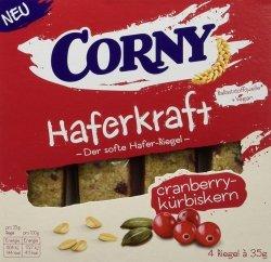 Corny Batony Owsiane Żurawina Dynia Wegan