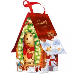 Lindt Miś Teddy Czekoladowy W Domku Mikołaj
