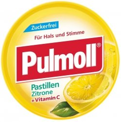 Pulmoll Cytrynowe Cukierki B/Cukru Wegan