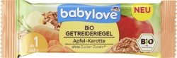 Babylove BIO Batonik Jabłko Marchewka Zboża 1r
