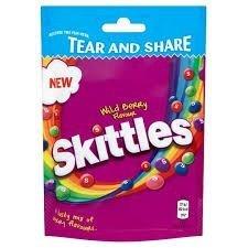 Skittles Wild Berry Cukierki Do Żucia 174g