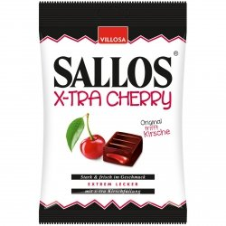 Sallos X-Tra Cherry Mocna Lukrecja Wiśnia
